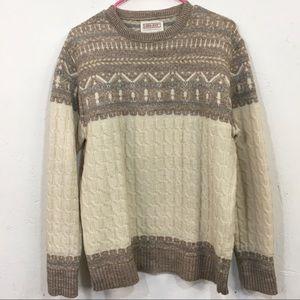 1970s Lord Jeff Acrylic Ski Sweater
